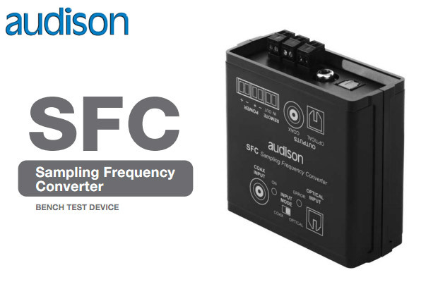 AUDISON AUDISON SFC Sampling frequency converter
