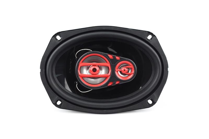 3-х полосная акустическая система в авто