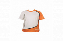 Hertz White/Orange Short Sleeve T-Shirt  XL